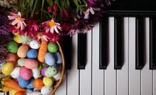 Paschal Easter Eggs And Piano ...
