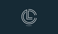 Alphabet Letter Icon Logo CL O...