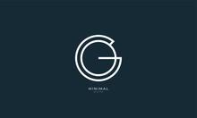 Alphabet Letter Icon Logo GO Or OG