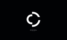 Alphabet Letter Icon Logo CC