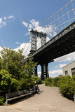 Fototapeta Nowy Jork - manhattan bridge