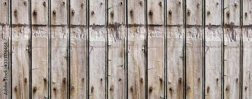 Fotografie, Obraz Rough wood board banner