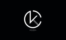 Alphabet Letter Icon Logo CK O...