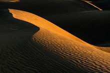 A Chiaroscuro Pattern In The Dunes Of Maspalomas