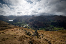 Snow Covered Summits Of The He...