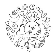 Coloring Pages, Black And Whit...