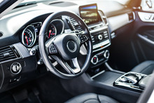 Interior View Of Car, Luxury C...