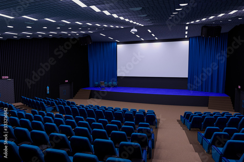 Photo auditorium cinema room scene