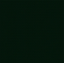 Knit Texture Green Color. Vect...