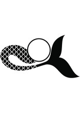 Mermaid Tail Eps / Mermaid Eps...