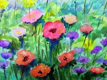 Art Painting Abstract Watercol...