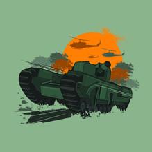 War Machine And Armored Vehicl...