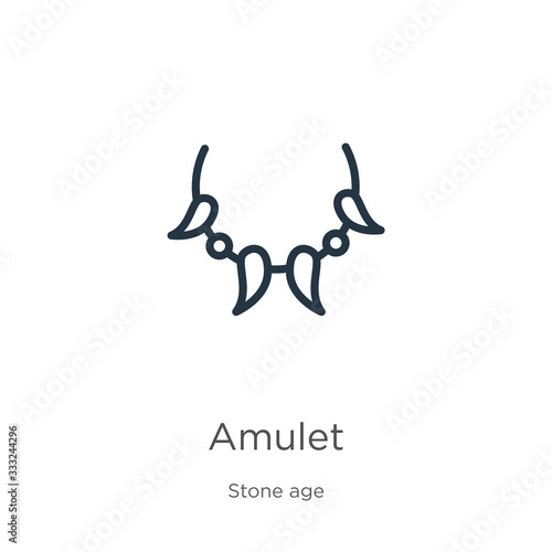 Amulet icon Wallpaper Mural