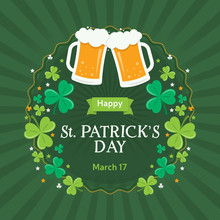 Card For St. Patrick's Day Wit...