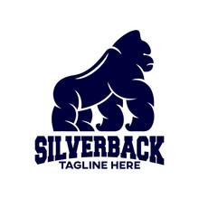 Modern Silverback Gorilla Masc...