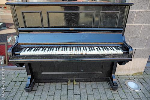 Altes Klavier Fototapete