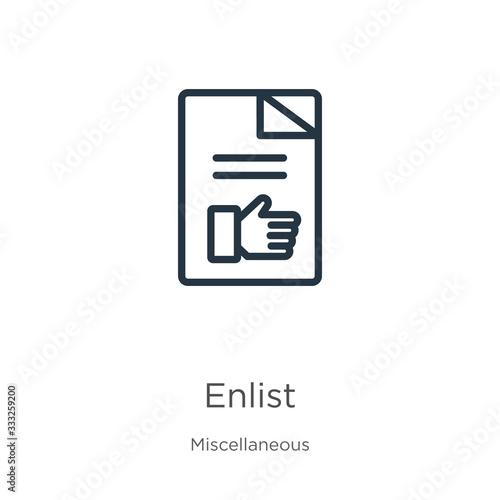 фотография Enlist icon