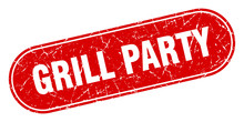 Grill Party Sign. Grill Party ...