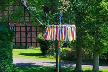 Traditional Maypole With Half-...