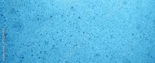 Fényképezés Blue paper background with marbled vintage texture design background banner pano