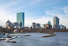 Boston Skyline Charles River W...