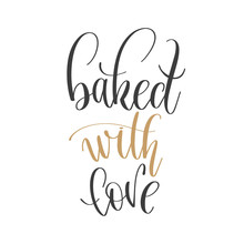 Baked With Love - Hand Letteri...