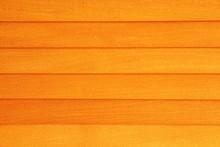 Texture Of Orange Wooden Surfa...