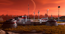 Base In Another Planet Panoram...