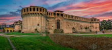 Imola Castle In Central Italy ...