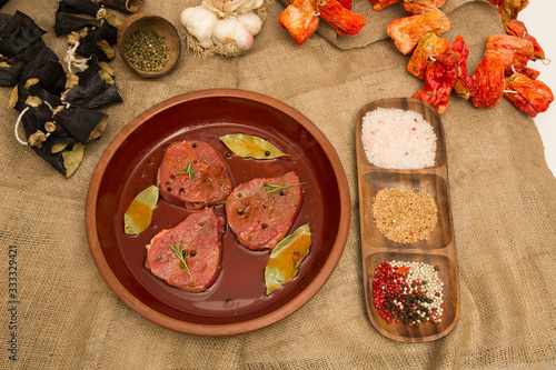 Fototapety, obrazy: raw meat stock photo