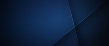 Abstract Dark Blue Cross Light
