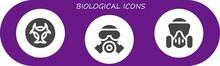 Modern Simple Set Of Biologica...