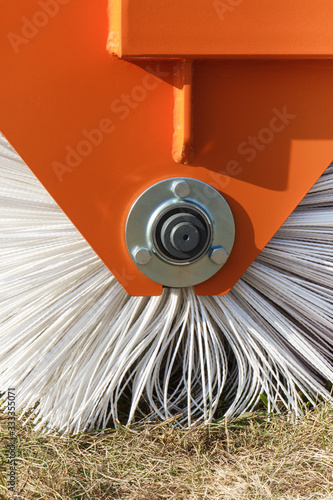 Part of sweeper using for cleaning surface in urban or countryside Canvas-taulu