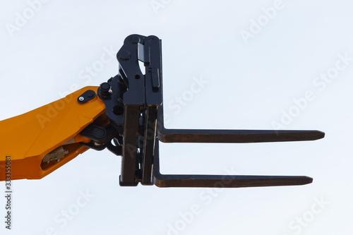 Valokuvatapetti Part of forklift loader or stacker