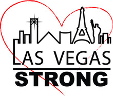 Las Vegas Strong City Outline ...