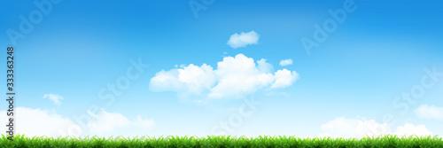 空 草原 風景 背景 - 333363248