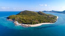 Beautiful Island In Samae San District, Thailand