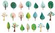 北欧風 色々な樹々