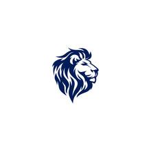 Modern And Unique Lion Logo