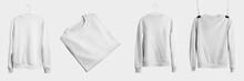 Mockup Of White Textile Heathe...