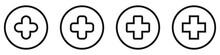 Set Of Medical Symbols. Medica...