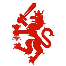Heraldic Dutch Lion