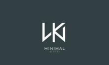 Alphabet Letter Icon Logo WK O...