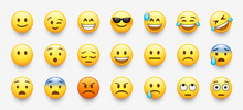 New Modern Emoticons Set With ...