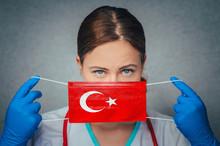 Coronavirus In Turkey Female D...