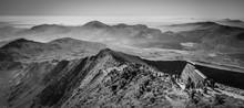 Snowdon Summit Crib Goch Y Lliwedd Snowdonia National Park Wales UK