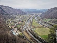 Autobahn A9 Nördlich Von Graz, Österreich