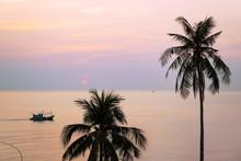 Sunset In Phu Quoc, Vietnam