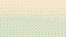 Green Drawn Randomly-spaced Sq...
