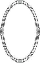 Ornamental Decorative Frame Created In Vector.